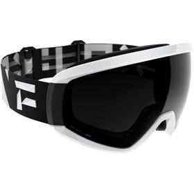 Flaxta Continuous Svømmebriller, black/white-black